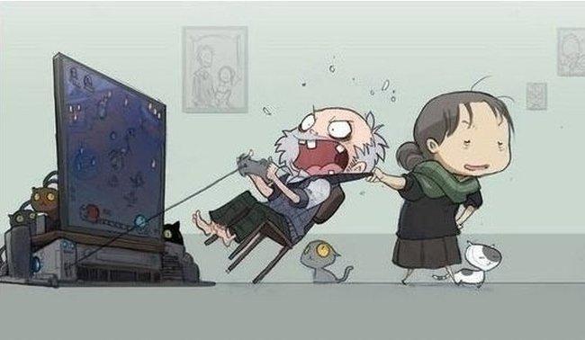 old gamer let me play