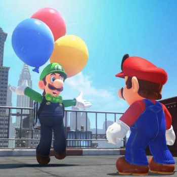 Luigi's Balloon World