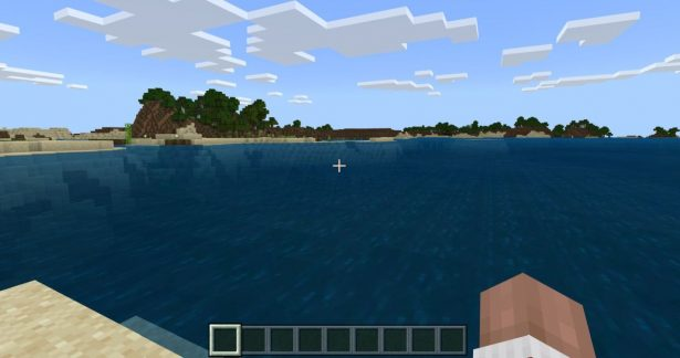 How many blocks does Minecraft Water Flow