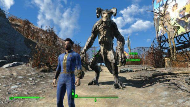 fallout 4 deathclaw companion mod download 01