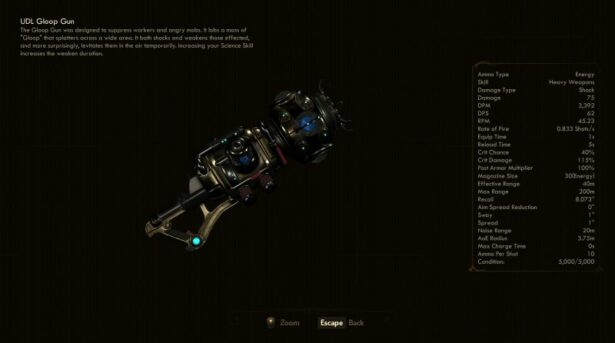 the outer worlds gloop gun