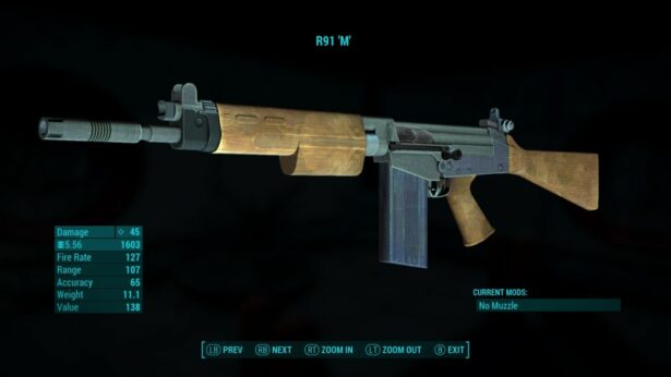 fallour 4 r91 weapon 01