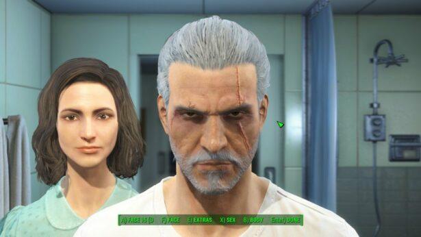 fallout 4 geralt character mod