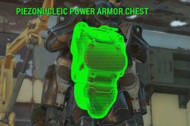 piezonucleic power armor piece