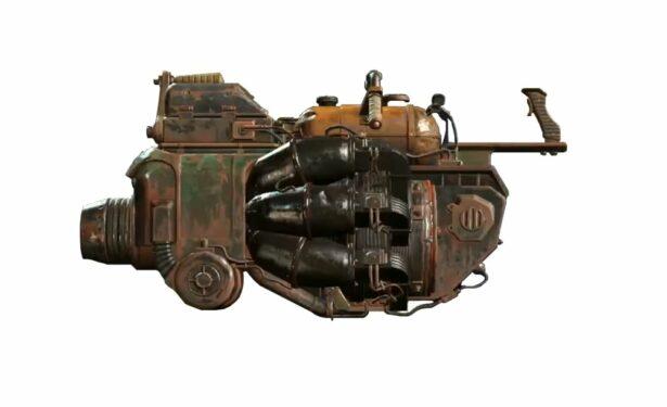 fallout 4 junk jet unique weapon