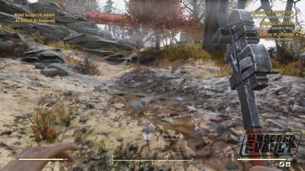 fallout 76 ammo removed bug