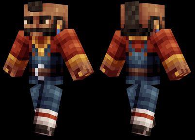 mr t minecraft skin