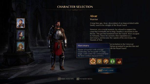 aivar the warrior in kings bounty 2