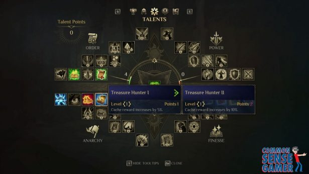 anarchy skills to increase gold
