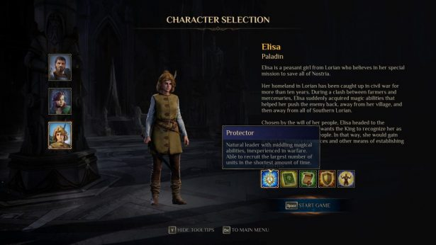elisa the paladin in kings bounty 2