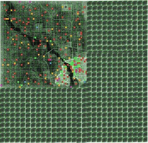fallour 4 map vs fallout 3 map