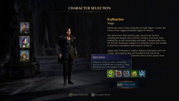 katharine the mage in kings bounty 2
