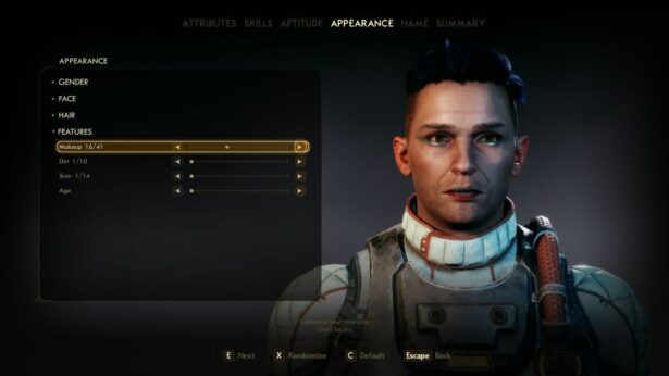 the outer worlds change characters appearance 1