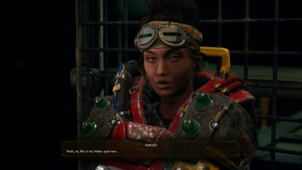 the outer worlds companions Parvati