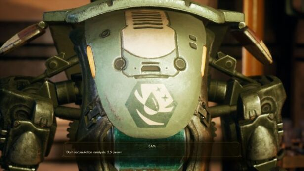 the outer worlds companions SAM