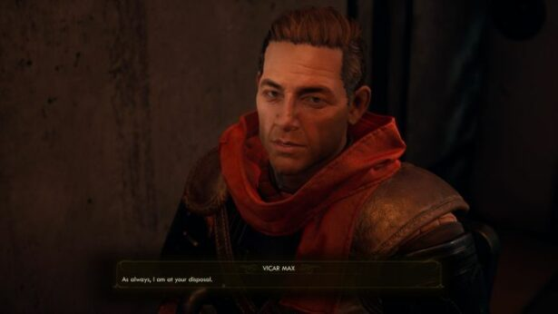 the outer worlds companions Vicar Max